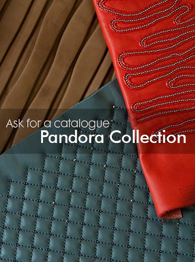 Ask for a Catalogue Pandora Collection